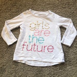 Carters Girls Graphic Tee